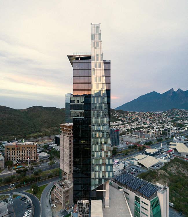 Vista Aerea torre Helicon